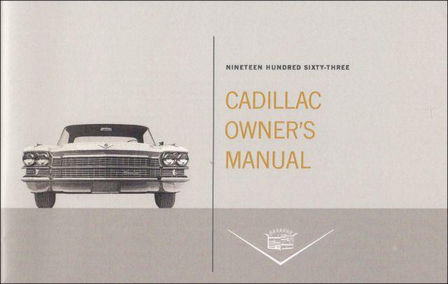 Cadillac Owners Manual